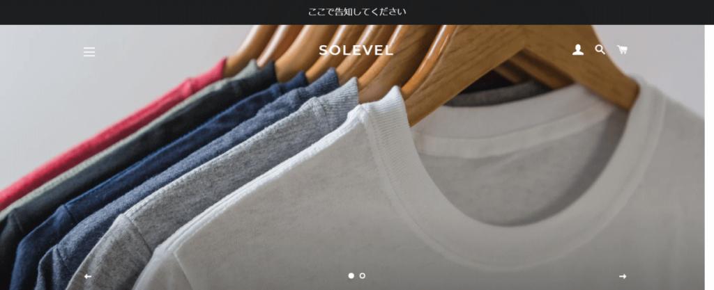 SERVICE@SOLEVEL.COM の偽サイト